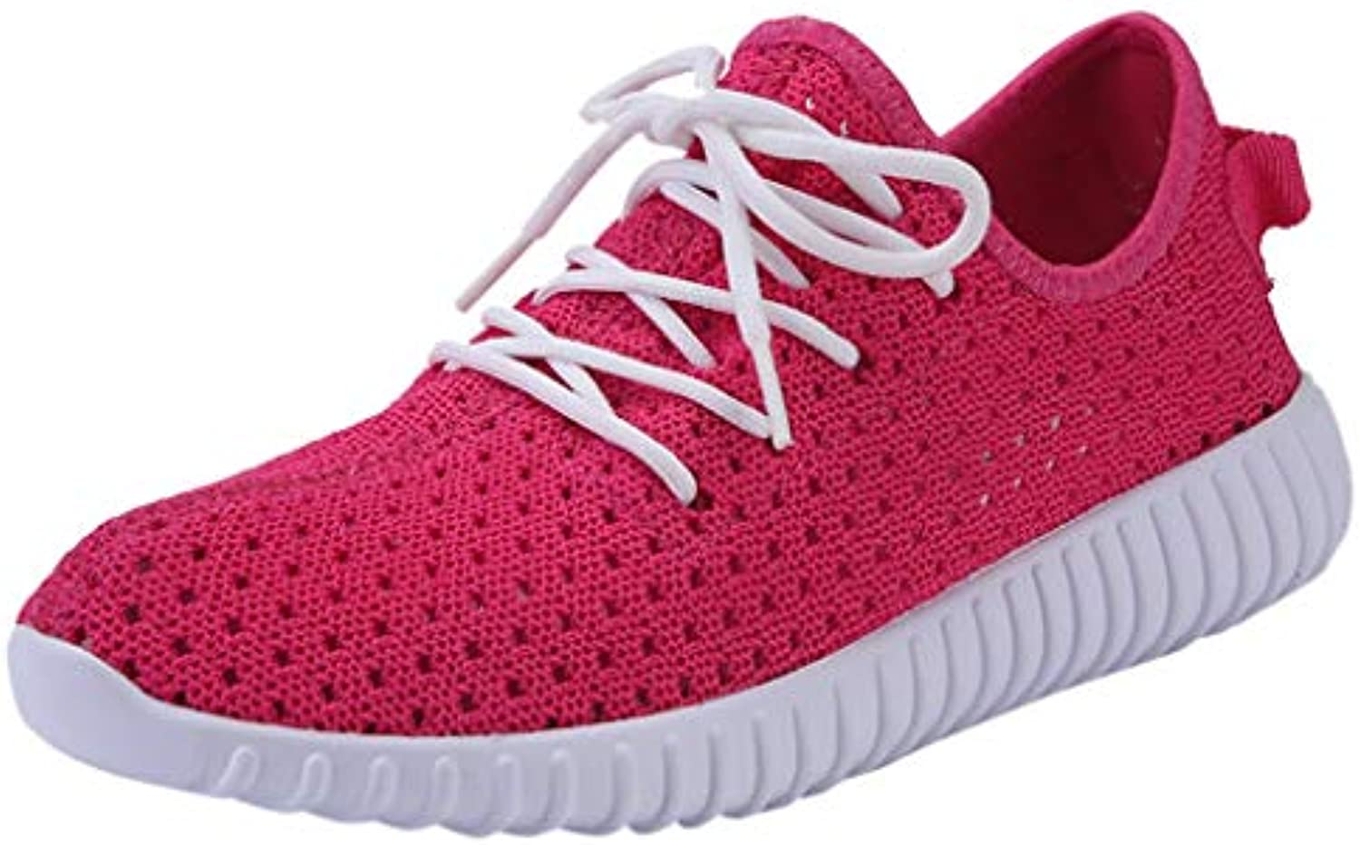 BESSKY Women's Sports Fashion Outdoors Casual shoes Breathable Footwear Mesh Sneaker