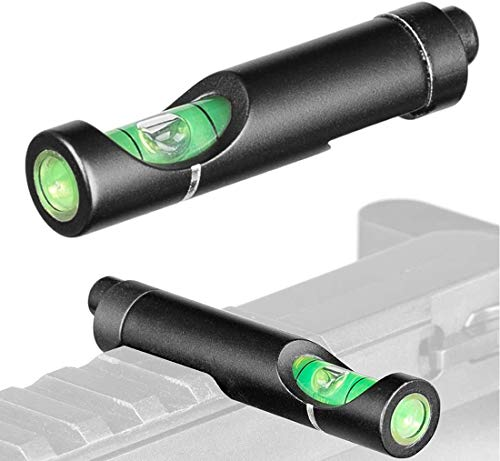 Malcm Metal Bubble Spirit Level Anti Cant for 20mm Weave Picatinny Rifel Scope Leveling kit Mounts Sight with Wrench