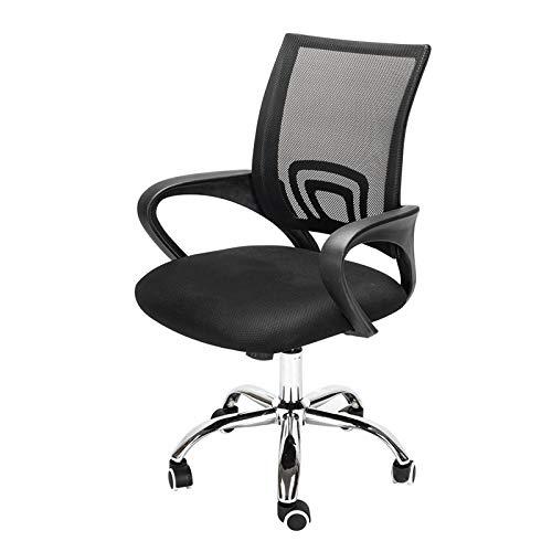 Bürostuhl, Ergonomisch Schreibtischstuhl, Höhenverstellung und Wippfunktion, Rückenschonend, Bürostuhl bis 150kg/330LB Belastbar
