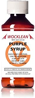 Wocklean Purple Relaxation Syrup (4oz)