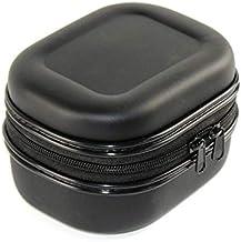 Cofemy Fishing Reel Bag Protective Cover, Fish Reel Bag Spinning Reel Case PU Material Protective Hard Shell Shockproof Wa...