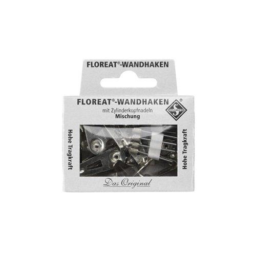Floreat Wall Hooks フローリートウォールフック (ニッケル)