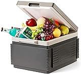 LXDZXY Mini Nevera, Botón Táctil Led Refrigerador de Coche Ca Capa Home 12L Portátil Caliente Y Frío Compacto