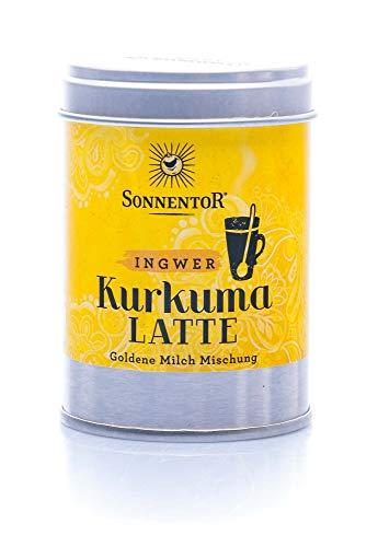 Sonnentor Kurkuma-Latte Ingwer bio, Dose, 1er Pack (1 x 60 g)