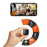 CreateGreat Mini Wi-Fi Camera,Portable Wireless Battery Security Camera,HD 1080P Video,2-Way Audio,PIR Motion Detection,Night