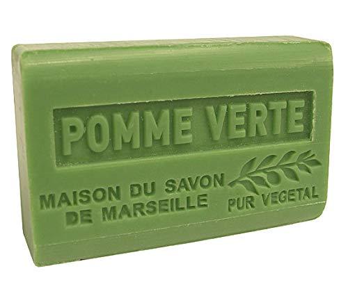 Provence Seife Pomme Verte (Grüner Apfel) - Karité 125g