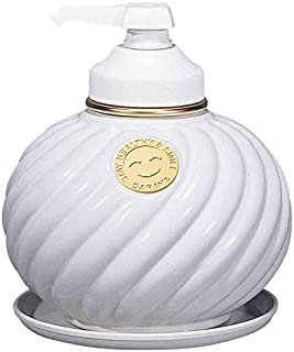 サラヤ ウォシュボン陶器製容器 MD-1 ポンプ付 ホワイト 1L×6本 255067