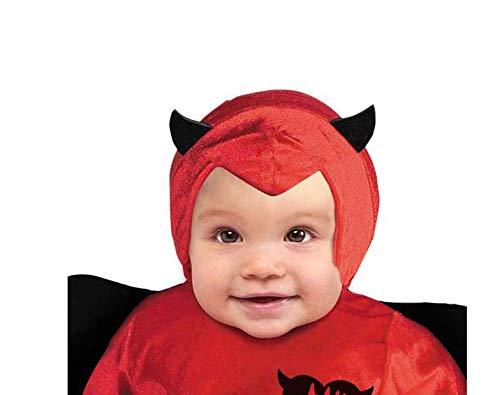 Ciao-Diavoletto Costume Tutina Bambino (Taglia 3-4 Anni), Multicolore, 28042.3-4