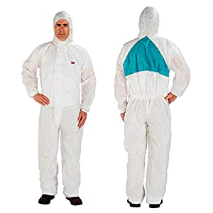 3M (4520-BLK-XXL) Disposable Protective Coverall Safety Work Wear 4520-BLK-XXL 25/Case [You are purchasing the Min order quantity which is 1 CASE]