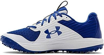 Under Armour mens Yard Turf Baseball Shoe, Royal (400 White, 8.5 US