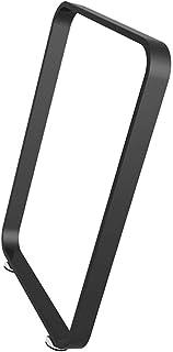 WQSQ アイアン テーブル脚 ダイニングテーブル 鉄脚 DIY バーデスク脚 ローテーブル 置き換え足 口型 調節可能 オフィステーブル パーツ 1本セット 幅 45/55/65/75cm ホワイト/ホワイト/シルバー