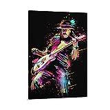 Carlos Santana Rockgitarristen-Poster, dekoratives