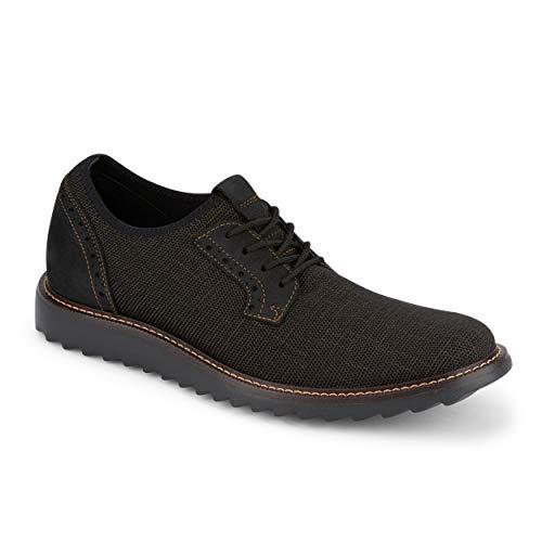 Dockers Mens Einstein Knit Smart Series Dress Casual Oxford Shoe, Bronze/Black, 11.5 M