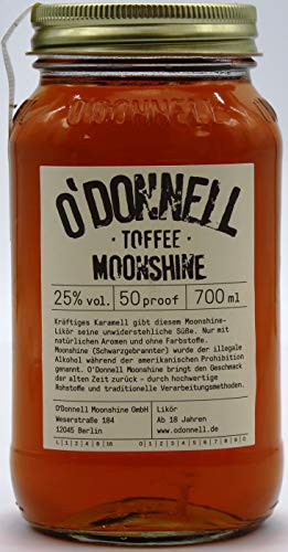 O´Donnell Moonshine Toffee 25% vol. (1 x 700ml)