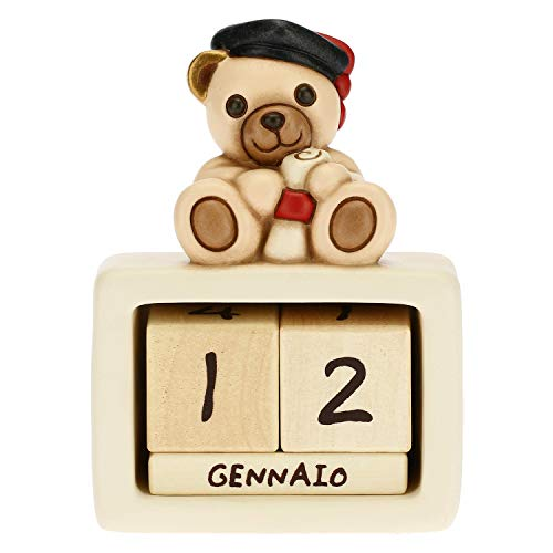 THUN Calendario perpetuo da Tavolo in Ceramica Laurea Unisex