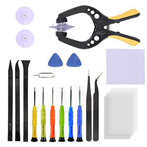 24pcs Precision Screwdriver Set Magnetic,Bencisy Phone Repair Tool Kit for Fix Android Phone/iPhone,Cellphone - Replace part Small Electronics Open Pry Tool Kits Sets DIY
