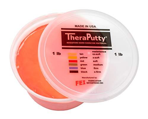 Cando® TheraPutty - Therapeutische Knetmasse, Therapieknete - 450 g - rot (leicht)