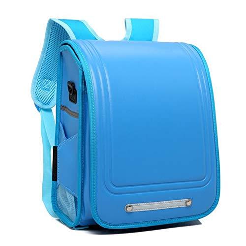 Randoseru Mochila estilo japonés mochila escolar para niñas y niños con
