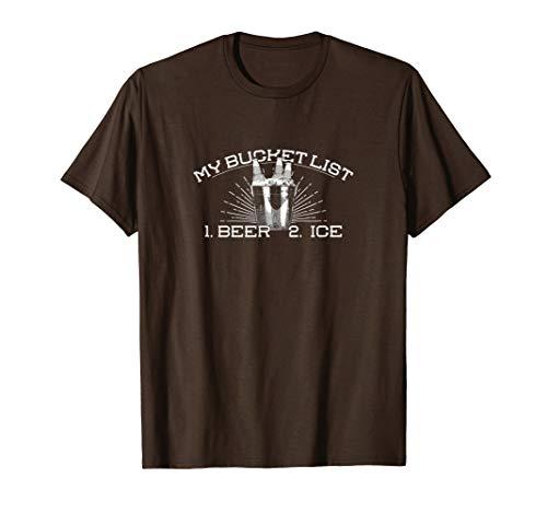 My [Bier] Eimer Liste | Funny Retirement Bier T-Shirt