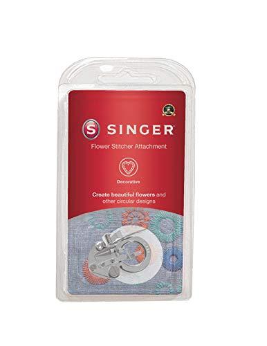 SINGER | Flower Stitch Presser Foot Attachment, Flower Inspired Circluar Designs, Adjustable Circle...