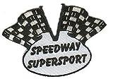 Speedway toppa Motivo bandiera di destinazione 2colori