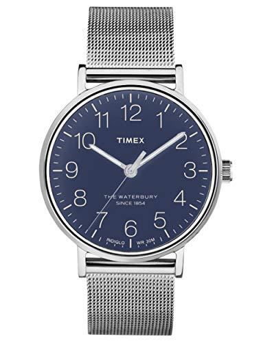 Timex - Reloj analógico de Cuarzo para Hombre, diseño de The Waterbury