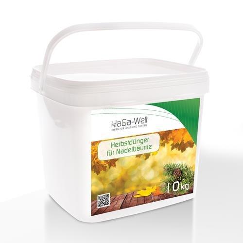 Herbstdünger für Nadelbäume Mineraldünger Dünger Düngemittel Pflanzendünger 10kg