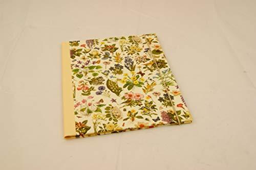 A 4 Sammelmappe mit Einschlaglaschen,Frühlingsblumen, Gummizugmappe, Eckspanner, Dokumentenmappe