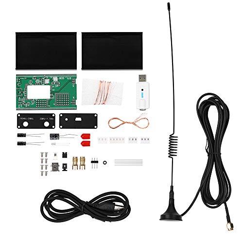 100 kHz-1,7 GHz volledig band UV HF RTL-SDR USB tuner ontvanger DIY kits U/V antenne