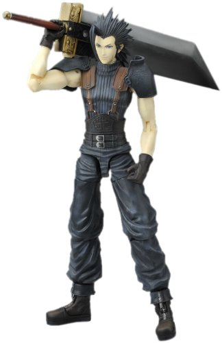 Final Fantasy VII Crisis Core Play Arts Zack Fair Action Figure by Final Fantasy