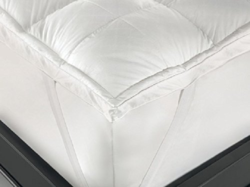 Viceroybedding Small Double 4 foot Bed Size Duck Feather and Down Mattress Topper, Contains 15% Duck Down