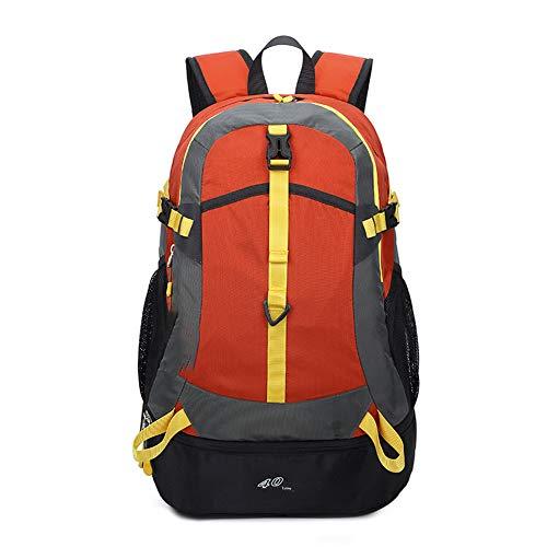 Bolsa de viaje al aire libre de 40L para mujer, mochila de gran capacidad para exteriores, bolsa de alpinismo, mochila de trekking impermeable ultraligera