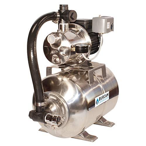 BURCAM 506547SSZ 3/4HP Stainless Steel Shallow Well Jet Pump System