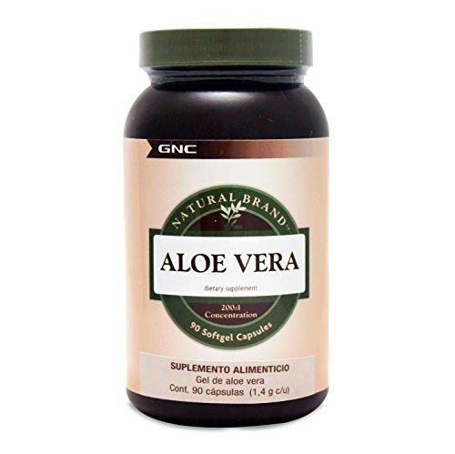 GNC Natural Brand Aloe Vera Gel 90 Softgel Capsules