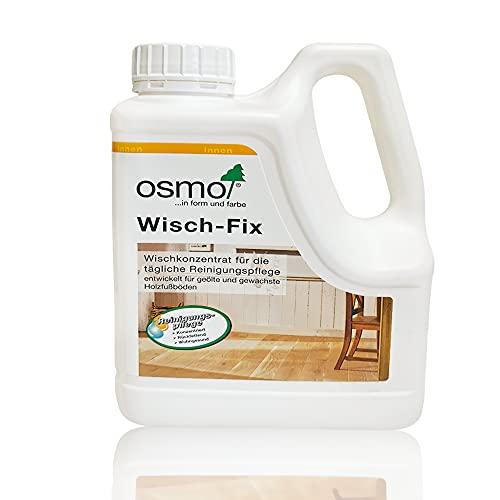 Osmo Wischfix 1L, Hochwirksames Spezial-Wischkonzentrat mit natürlichen Inhaltsstoffen – zur regelmäßigen Reinigung und Pflege!