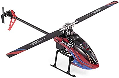 YZX Rc Remote Control Helicopter 6-Channel Brushless Motor Aircraft Toys Unmanned Aerial Vehicle Electric Aircraft Model with Accessories Package for Outdoor Entertainment from ZZX