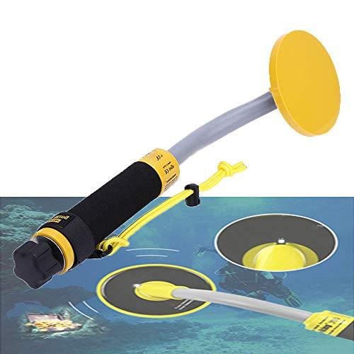 NA Detector de Metales, Resistente al Agua, BúSqueda del Tesoro de Buceo, de Mano, InduccióN de Pulso Meta, VibracióN LED Aler, FáCil de Llevar