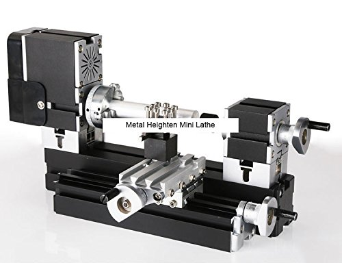 Buy TZ20002MGP 60W Electroplated Metal Heighten Mini Lathe/60W,12000rpm electroplating didactical la...