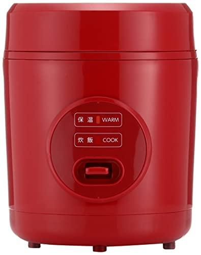 [山善]炊飯器0.5~1.5合ひとり暮らし用小型ミニライスクッカーレッドYJE-M150(R)[メーカー保証1年]