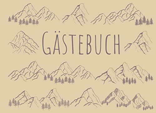 Gästebuch: Für Ferienwohnung, Bed and Breakfast, Pension, Ferienhaus und Hotel | Berge Design |...