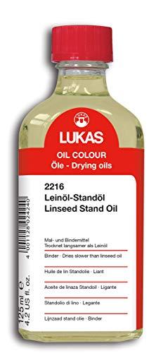 LUKAS Malmittel für die Ölmalerei - Leinöl-Standöl in 125 ml