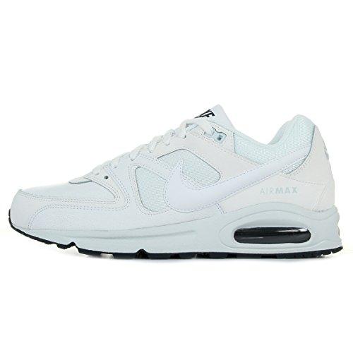 Nike Air Max Command Prm, Scarpe da Ginnastica Uomo, Bianco (White/White/Pure Platinum/Armory Navy), 39 EU
