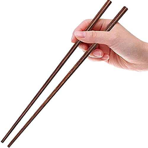 Set de regalo para palillos - 2 pares de palillos de bambú natural reutilizables