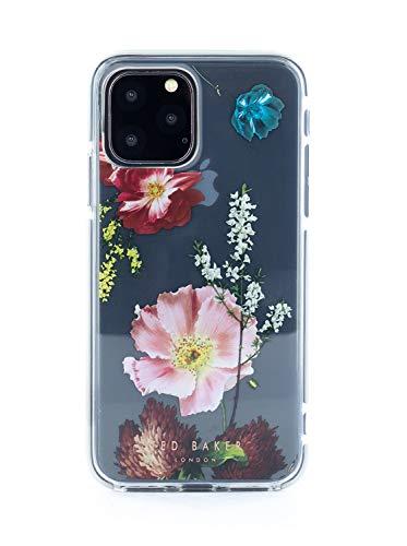 Ted Baker beschermhoes voor iPhone 11 Pro, motief Forest Fruits, schokbestendig, transparant