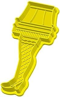 A Christmas Story Leg Lamp Cookie Cutter Xmas Movie Baking Major Award Yellow