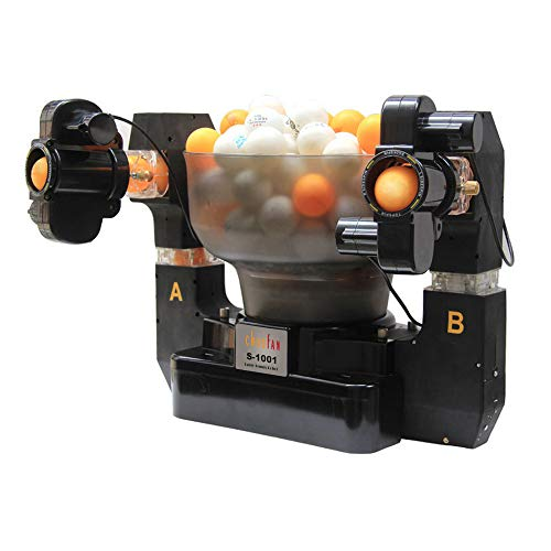 CHAOFAN S-1001 Double-end 36 Spins Ping Pong Ball Machine with Automatic Table Tennis Machine for Training