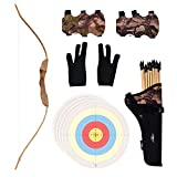 UTeCiA 30 Pcs Complete Archery Set for Kids & Beginners - Safety...