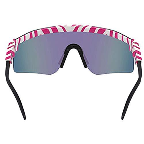 Gafas De Sol Deportivas Polarizadas Gafas De Ciclismo con Marco TR90 para Montar A Caballo, Conducir, Golf, Pesca, Esquí, Vela, Senderismo