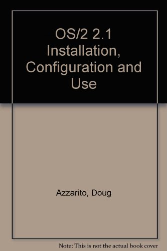 Os2 Installation, Configuration and Use