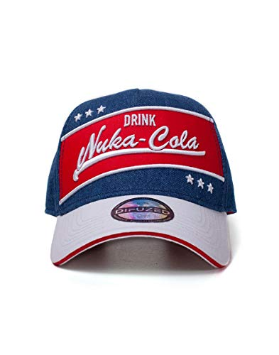 Fallout Gioteck Unisex Casquette Fallout 76- Drink Nuka-cola Vintage Visor, Mehrfarbig (Multicouleur Multicouleur), One Size
